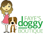 Logo for Faye's Doggy Boutique
